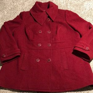 Lane Bryant Wool Coat